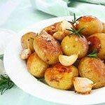 сваренный картофель
